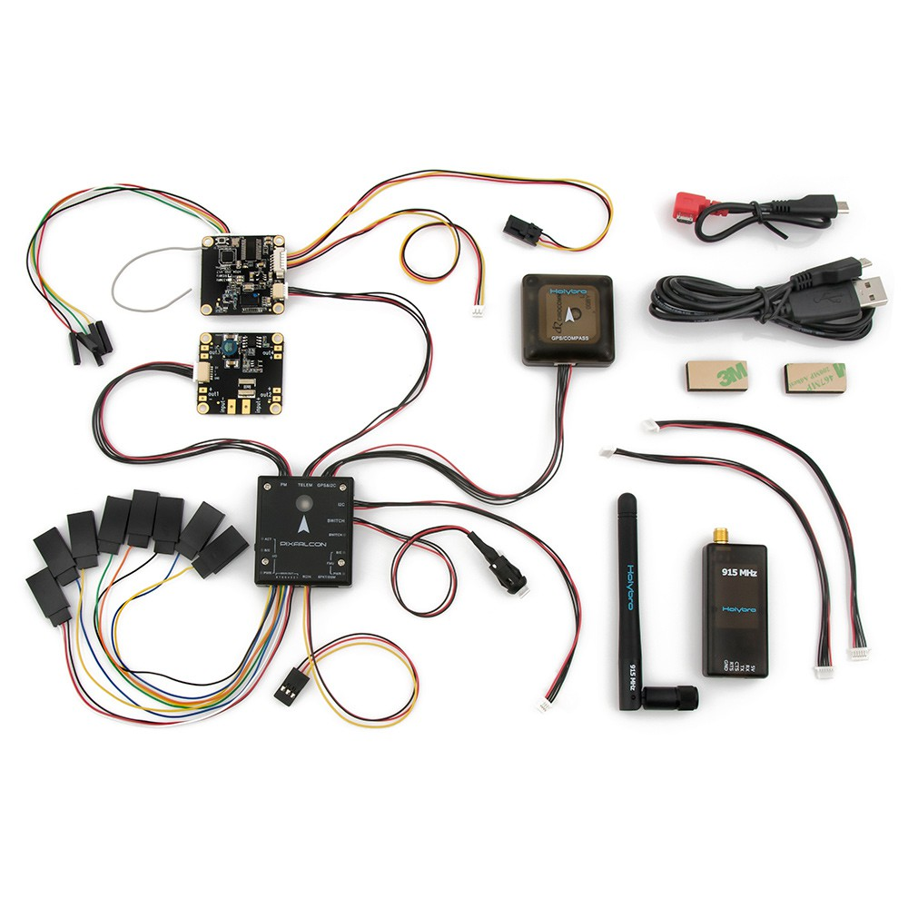 holybro pixfalcon micropx4 with micro m8n gps  pm05 power