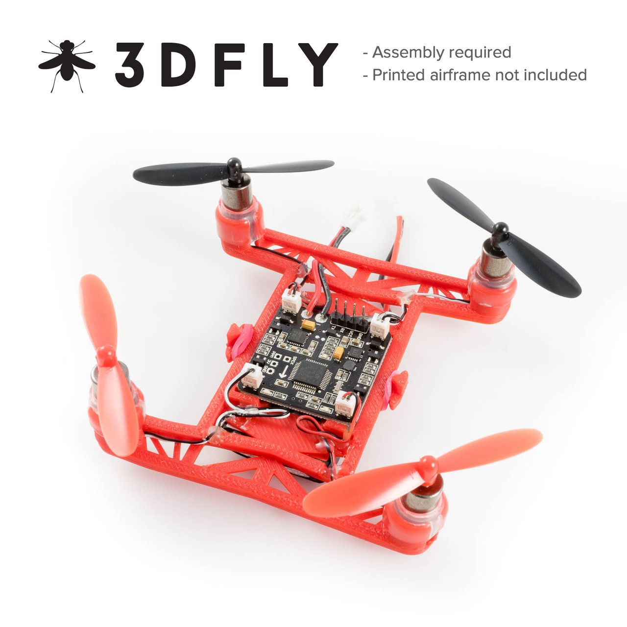 Hovership 3DFly Micro Quad Kit (FrSky)
