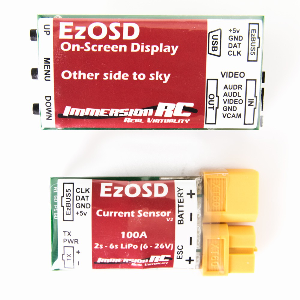 ImmersionRC EzOSD & Current Sensor (XT60)