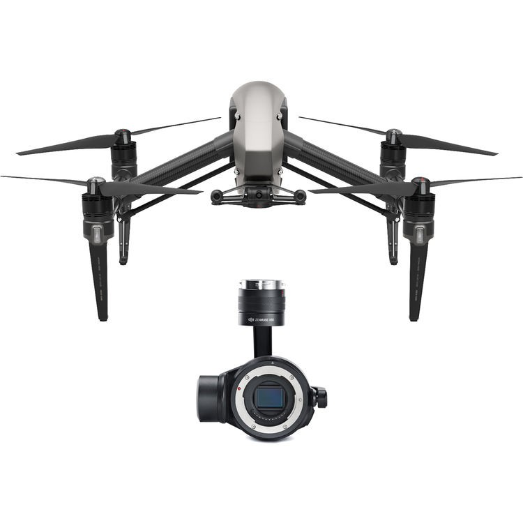 DJI Inspire 2 Quadcopter Premium Combo W X5s And License