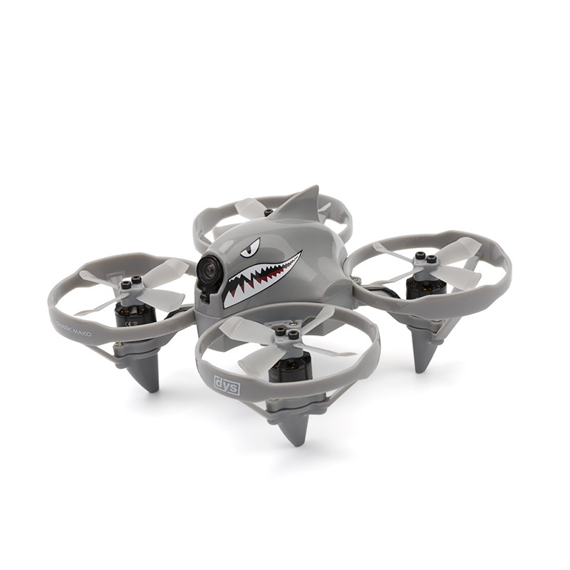DYS Mako Brushless FPV Micro Drone - BNF (Gray)