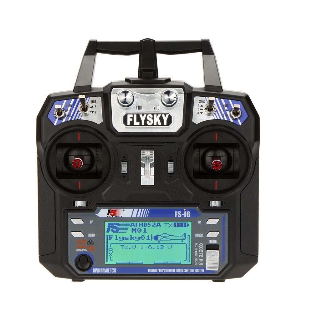 FlySky FS-i6 AFHDS 6CH Transmitter and 6CH FS-iA6B Receiver