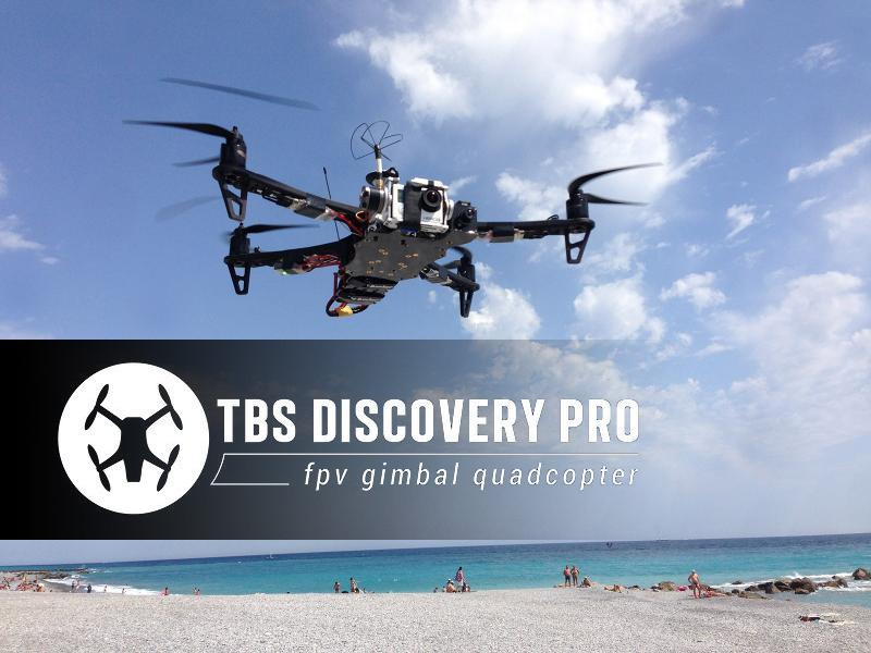 TBS Discovery Pro Gimbal Frame