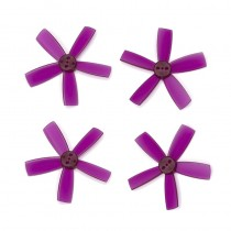 "DYS 2"" 5 Blade, Purple Propeller - Set of 4 (2x CW, 2x CCW)"