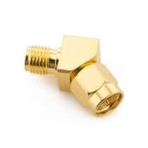 45 Degree Male to Female SMA Connector (1 pcs)