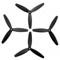 Lumenier 5x4x3 - 3 Blade Propeller (Set of 4 - Black)