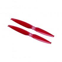 Gemfan Flash 7042 Durable 2 Blade (Ferrari Red) - Set of 4