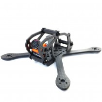 Airblade Eclair 3K Carbon Fiber Frame Kit V2, 2.0 inches