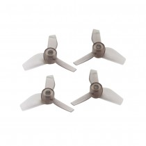 Rakonheli 31MM 3 Blade Clear Propeller (2CW+2CCW; 0.8MM Shaft) - Black