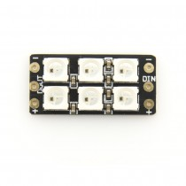 DIATONE SW302 2812 Full Switchable Color Flash Bang 6 LED Board