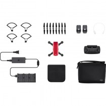 DJI Spark Quadcopter Fly More Combo (Lava Red)