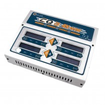 EV-Peak CQ3 Multi Charger 4x 100W NiMH / LiPO with Built-in Balance
