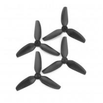 HQProp DP 3x3x3 PC Propeller - 3 Blade (Black- Set of 4)