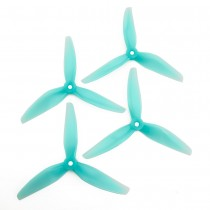 HQProp DP 5.1X5.1X3 PC Propeller (Set of 4 - Light Blue)