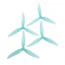 HQProp DP 6x4x3V1SB Propeller (Light Blue - 4 pack)