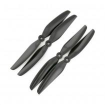 HQProp 7x4.5V1S GFN Propeller - 2 Blade (Black - Set of 4)