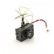 Lumenier AIO-Adjustable Mini FPV Camera + 0/25/50/200mW VTX w/ Clover Antenna