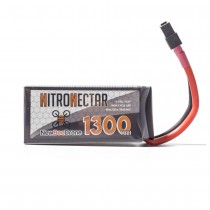 NewBeeDrone Nitro Nectar 1300mAh 4S 80c Lipo Battery w/ Removable Balance Lead, Aluminum Shield