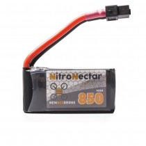 NewBeeDrone Nitro Nectar 850mAh 4S 60c Lipo Battery w/ Removable Balance Lead