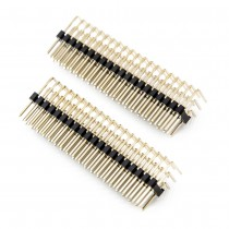 Right Angle Pin Header 3 Row, 20 Pin, 2.54mm Pitch (2pcs)