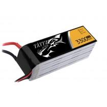 TATTU 3300mAh 6s 35c Lipo Battery