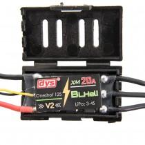DYS BLHeli XM 20A V2 ESC 500Hz 3-4s (Oneshot 125)