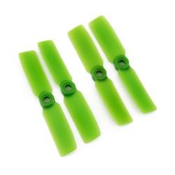Gemfan 3.5x4.5 Glass Fiber Propeller (Set of 4 - Green)