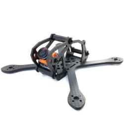 Airblade Eclair 3K Carbon Fiber Frame Kit V2, 2.5 inches