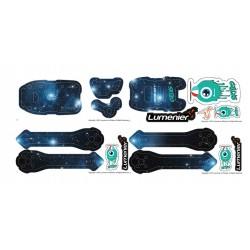 QAV-SKITZO Dark Matter Sticker Set - Andromeda