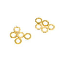 Replacement Brass Washers for Motors - 3.175mm (10pcs)