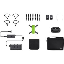 DJI Spark Quadcopter Fly More Combo (Meadow Green)