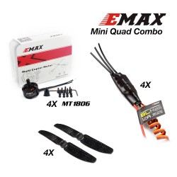 EMAX Mini Quad Combo (MT1806, 12A ESC, 5x3)