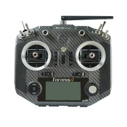 FrSky Taranis Q X7S Radio w/ Upgraded M7 Hall Sensor Gimbals (Carbon Fiber)
