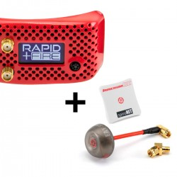 ImmersionRC rapidFIRE w/ Analog PLUS Goggle Receiver Module + RHCP Diversity Antenna Bundle
