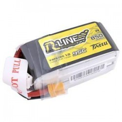 TATTU R-Line 850mAh 4s 95C Lipo Battery (XT-30)