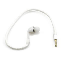 """Single """"S.Bud"""" Earbud for FPV Goggles - White"""