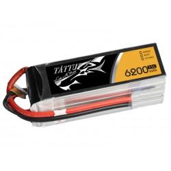 TATTU 6200mAh 6s 35c Lipo Battery
