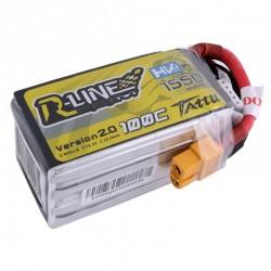 TATTU R-Line 1550mAh 4s 100c Lipo Battery V2