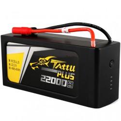 Tattu Plus 22000mAh 22.2V 25C 6S Lipo Smart Battery Pack