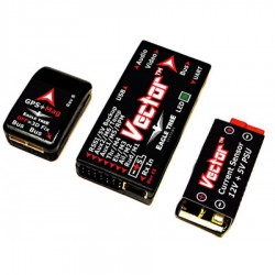 Eagle Tree Vector FPV Controller with Color OSD (Deans)
