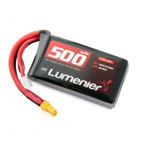 Lumenier 500mAh 4s 15.2v High Voltage 80c Lipo Battery (XT-30)