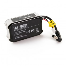 FatShark 1800mAh 7.4v Headset Battery