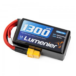 Lumenier 1300mAh 4s 60c Lipo Battery (XT60)
