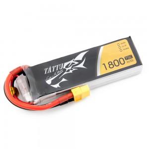 TATTU 1800mAh 3s 75c Lipo Battery