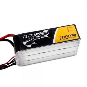 TATTU 7000mAh 6s 25c Lipo Battery