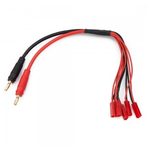 Multi Charge Cable (Female JST to 4mm Bullet)