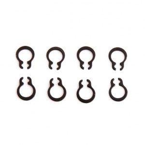 Replacement C-Clips - For 4mm Shafts (10pcs)