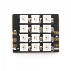 DIATONE SW304 2812 Full Switchable Color Flash Bang 12 LED Board