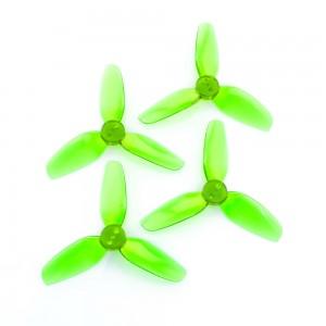 HQProp DP 2.5x3.5x3 Propeller (Set of 4 - Light Green)