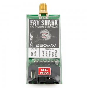 Fat Shark 1.3GHz 250mW A/V Transmitter (International Version)